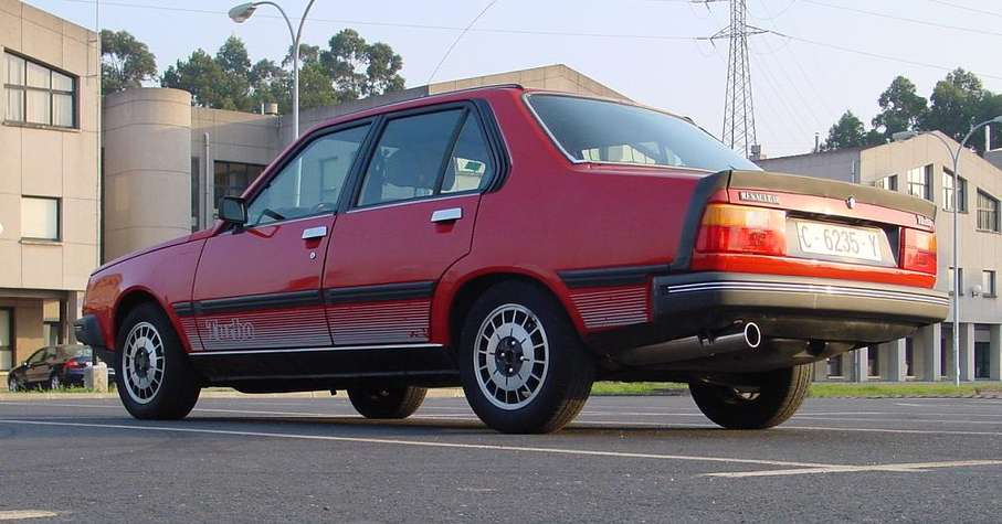 Renault 18 Turbo #8343823