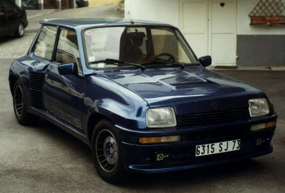 Renault 5 Alpine Turbo #9297887
