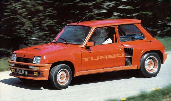 Renault 5 Alpine Turbo #9392366