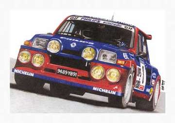 Renault 5 Maxi Turbo #9167672