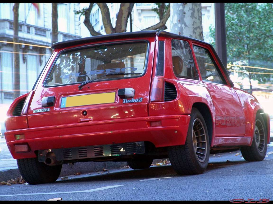 Renault 5 Turbo #7342538