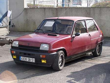Renault 5 Alpine Turbo #9834895