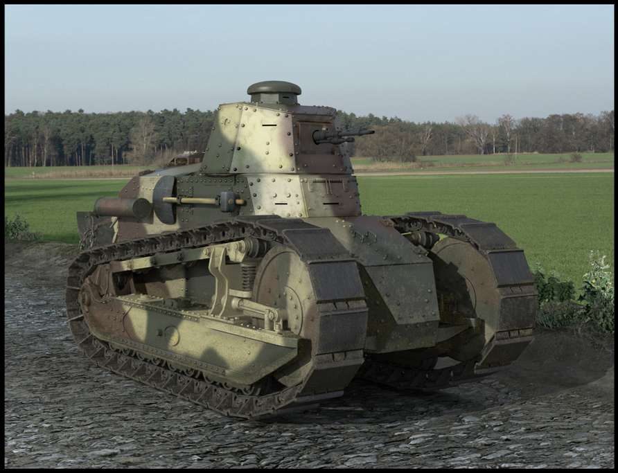 Renault FT-17 #7917288
