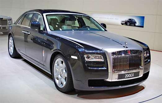 Rolls-Royce Ghost #9397030