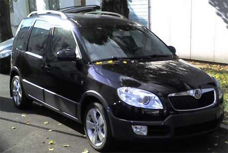 Skoda Roomster Scout #9852444