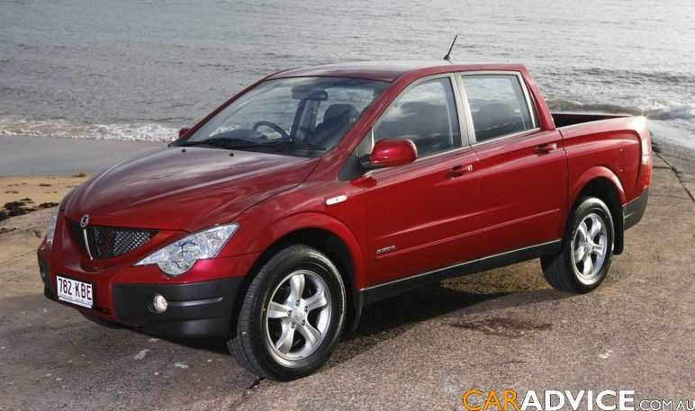 Ssangyong Actyon Sports #9750892