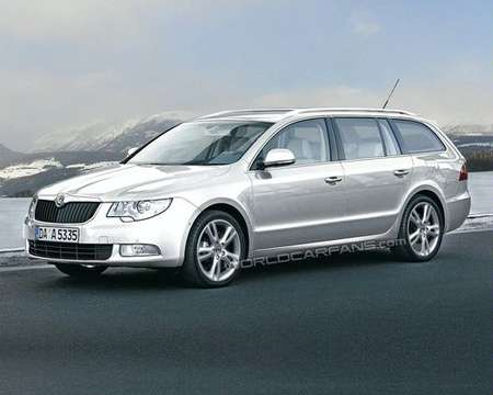 Skoda Superb Estate #8846289