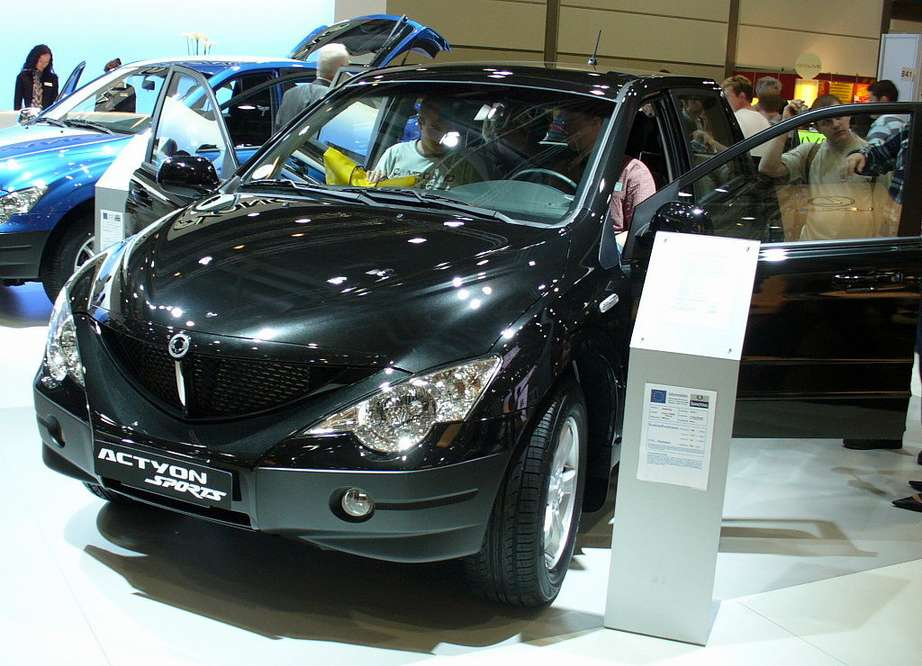 Ssangyong Actyon Sports #9937105