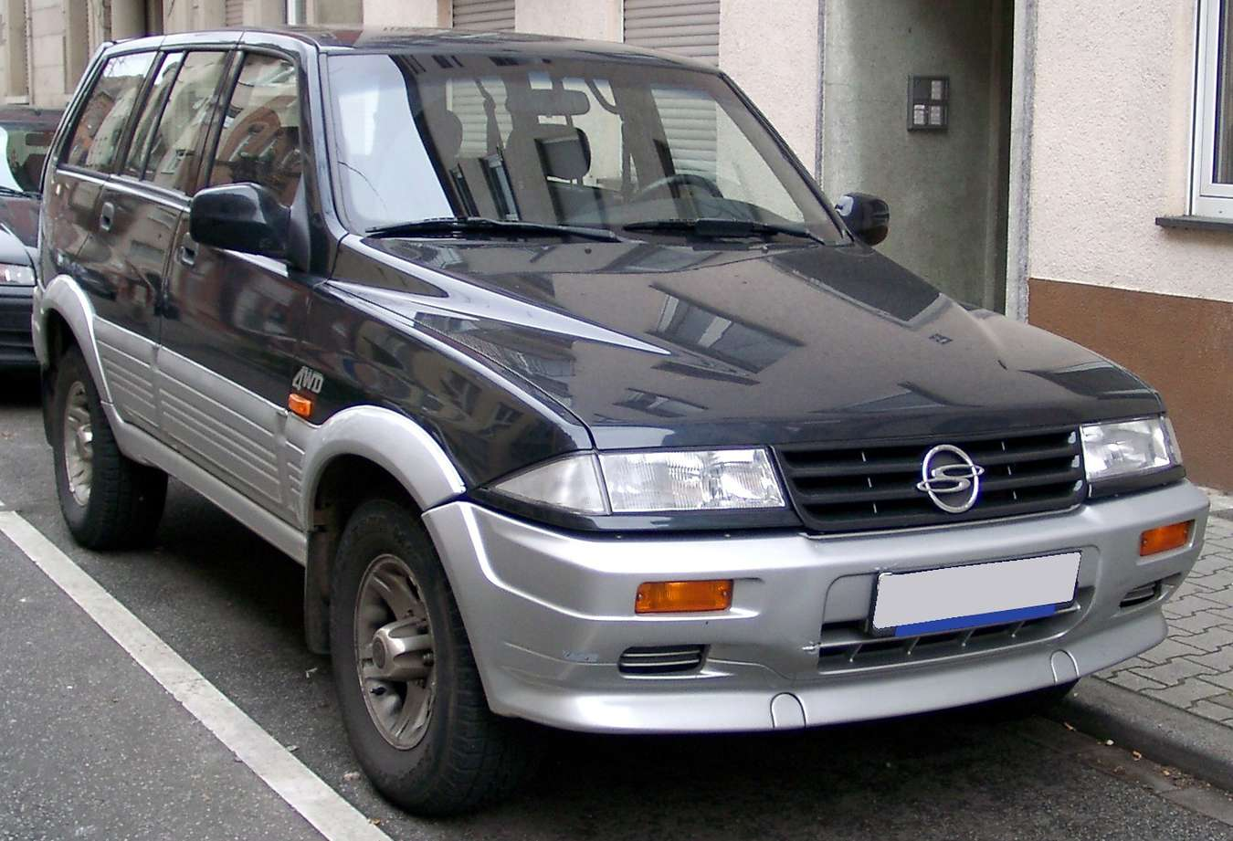 SsangYong Musso #7279988