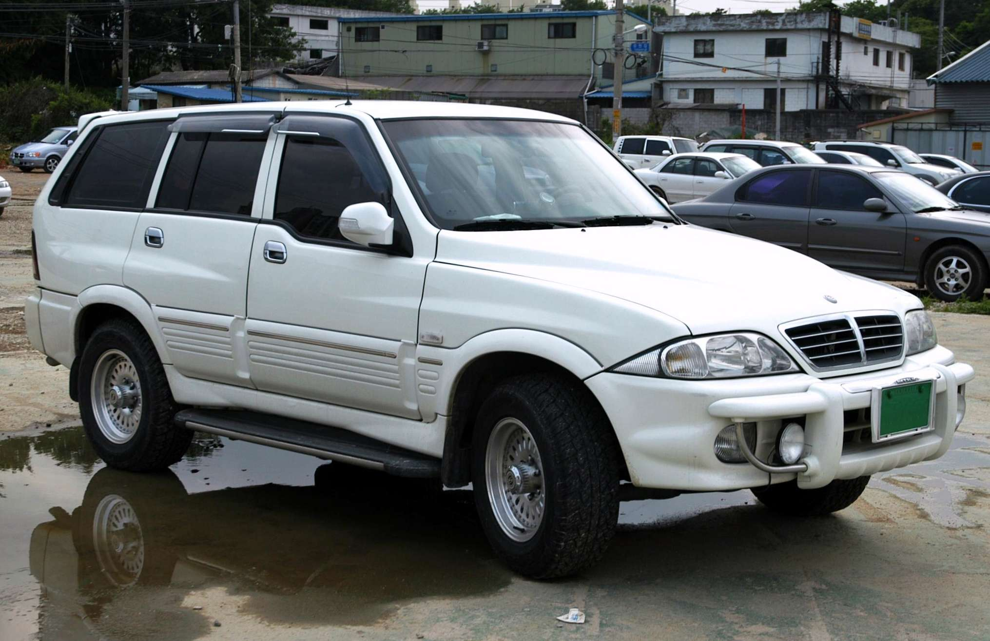SsangYong Musso #7255954