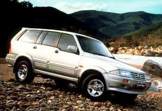 SsangYong Musso #9543682