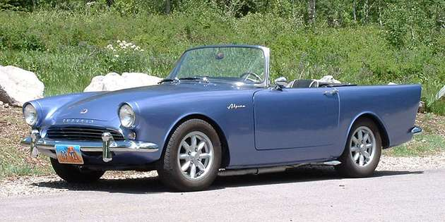 Sunbeam Alpine #9649530