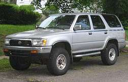 Toyota Four Runner #7656101