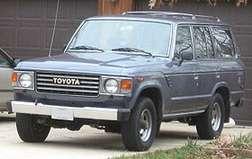 Toyota Land Cruiser #8837893