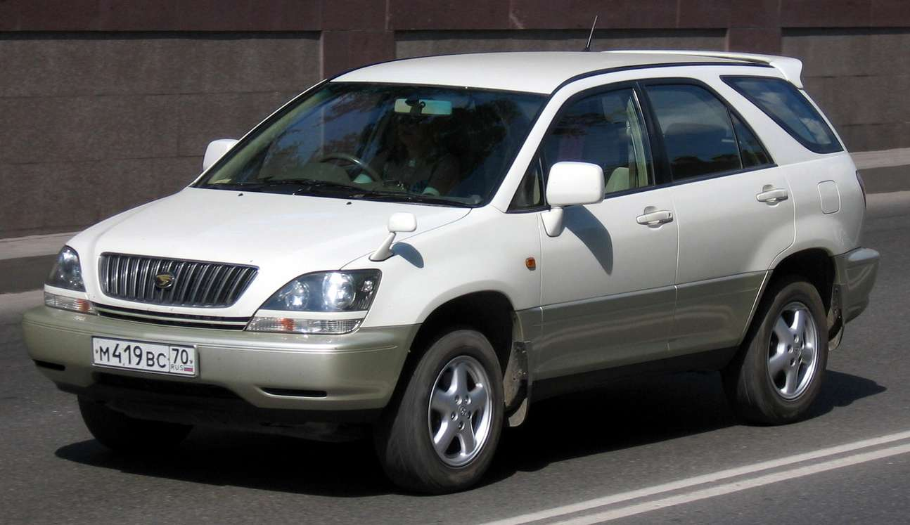 Toyota Harrier #8704809