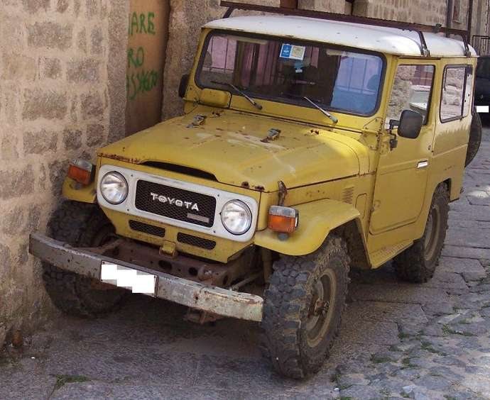 Toyota Land Cruiser #9258276