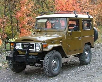 Toyota Land Cruiser #7541797