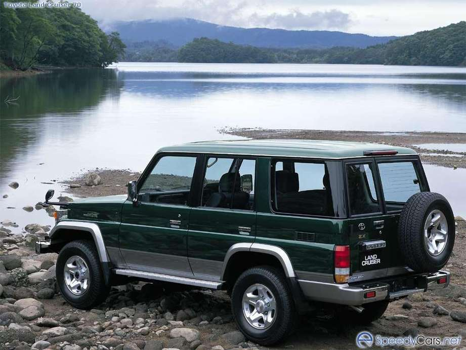 Toyota Land Cruiser 70 #8268086