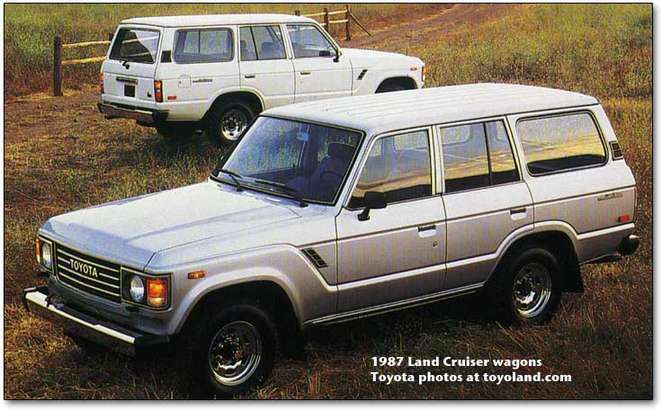 Toyota Land Cruiser #8635979