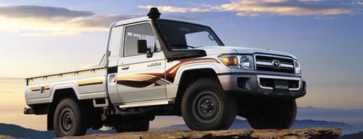 Toyota Land Cruiser 70 #9655944