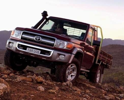 Toyota Land Cruiser 70 #8991905