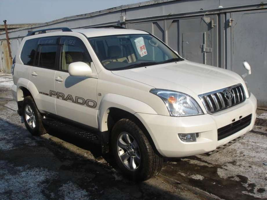 Toyota Land Cruiser Prado #9862811