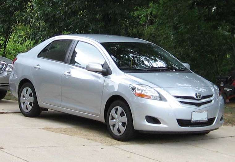 Toyota Yaris Sedan #7525859