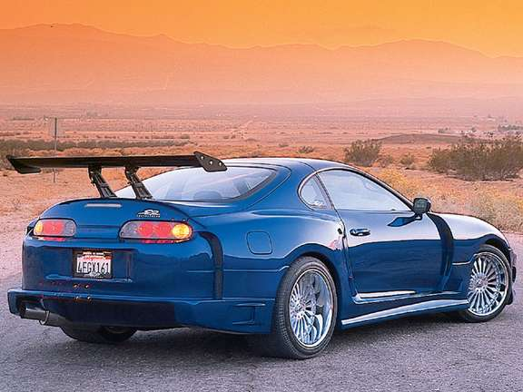 Toyota Supra Twin Turbo #8736913