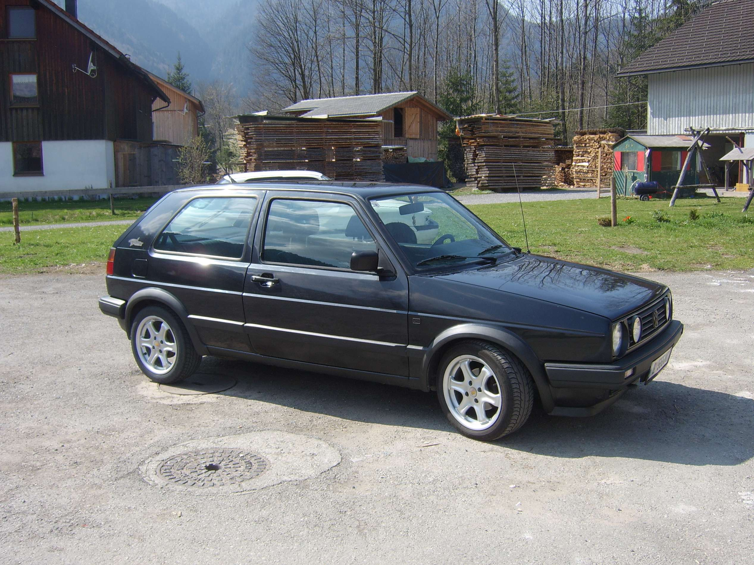 Volkswagen Golf 2 #7378862