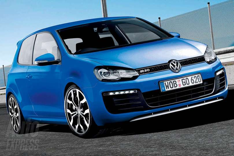 Volkswagen Golf R #9444223