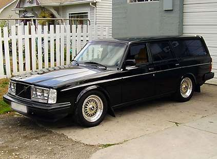 Volvo 240 Turbo #7567949