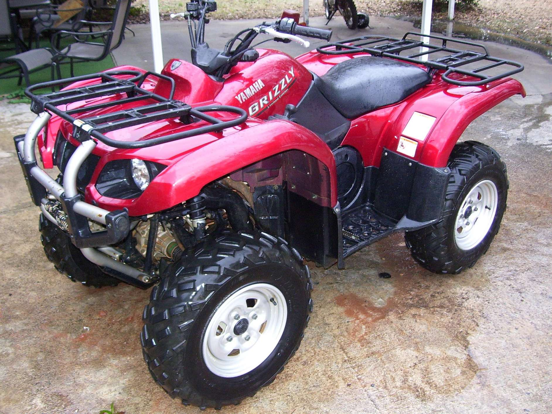 Yamaha Grizzly 660 #7255817