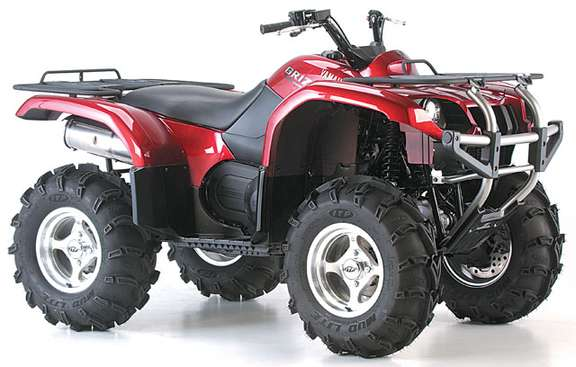 Yamaha Grizzly 660 #9030961