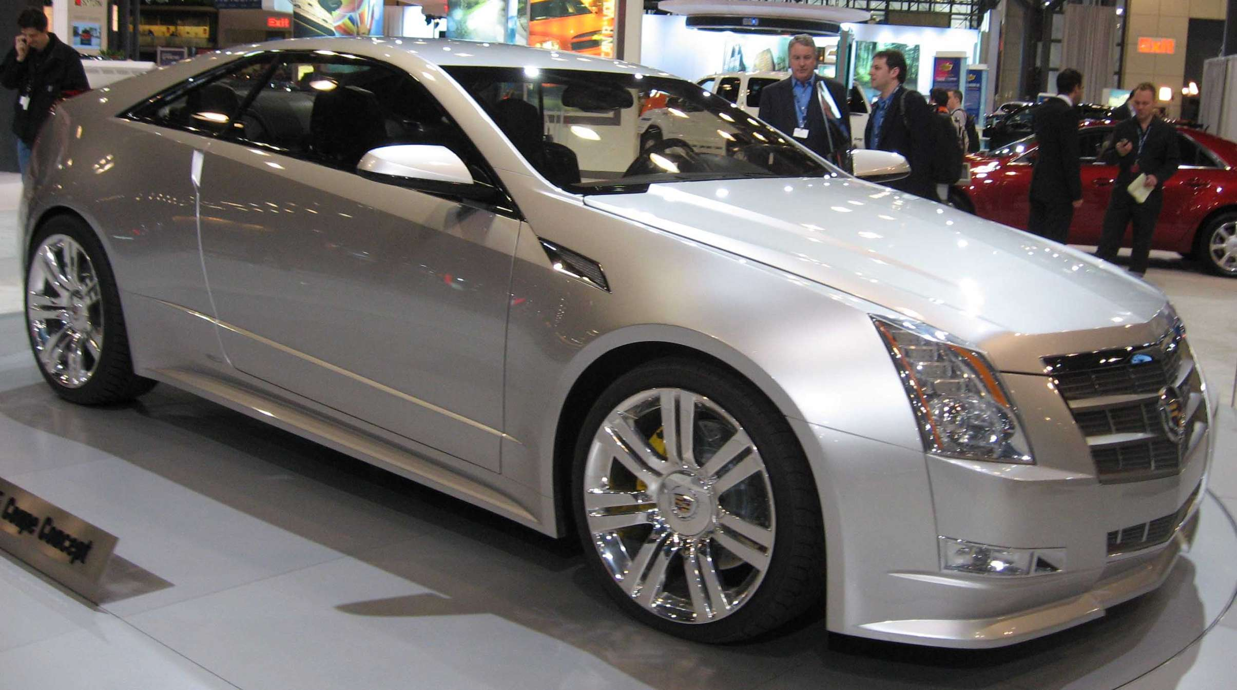 Cadillac CTS Coupe #8970606