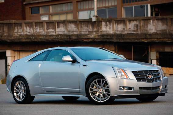 Cadillac CTS Coupe #8015864