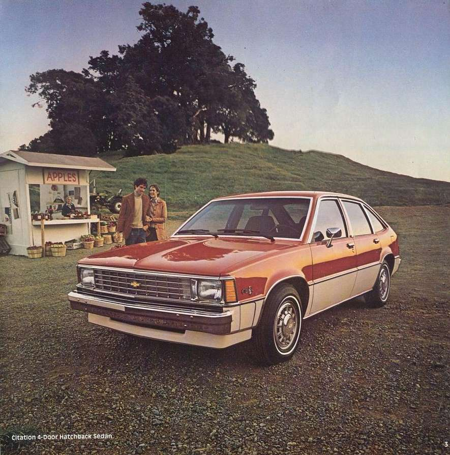 Chevrolet Citation #9178532