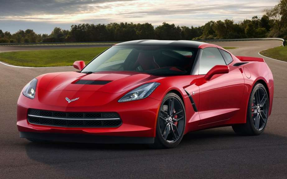 Chevrolet Corvette Stingray #7949861