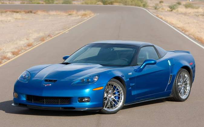 Chevrolet Corvette ZR1 #7727345