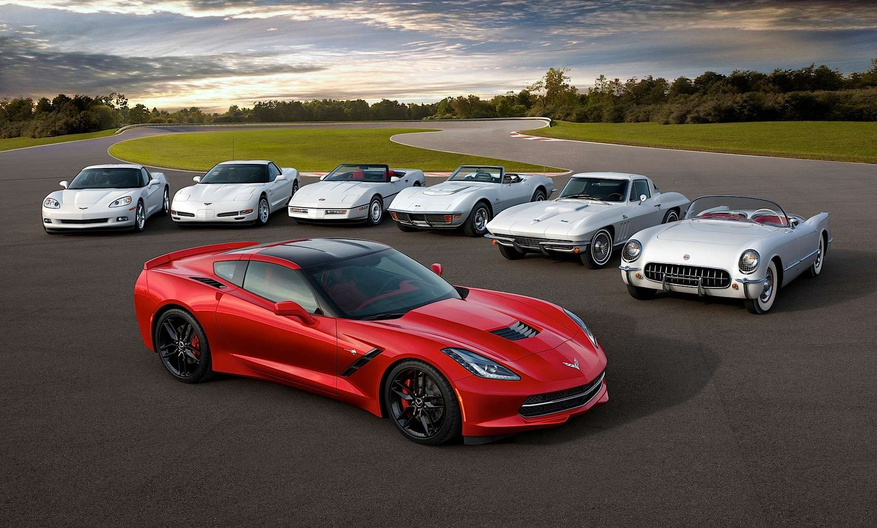 Chevrolet Corvette Stingray #9745445