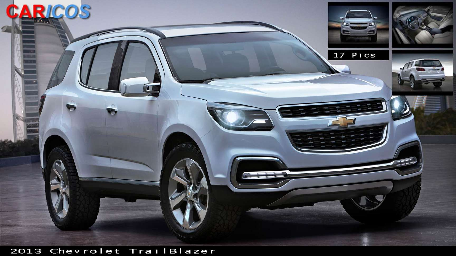Chevrolet TrailBlazer #9064321