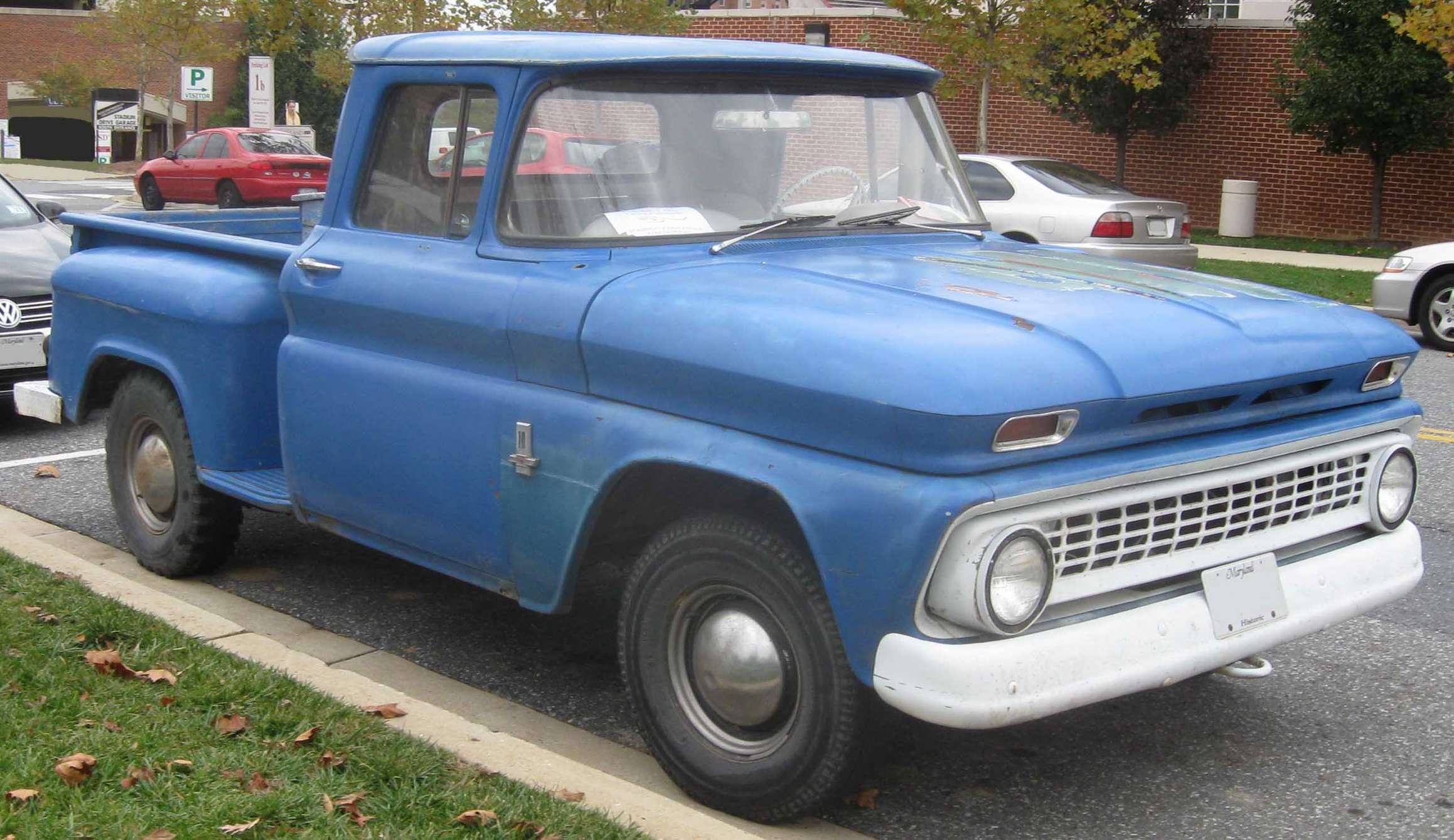 Chevrolet Pick-up #9344183