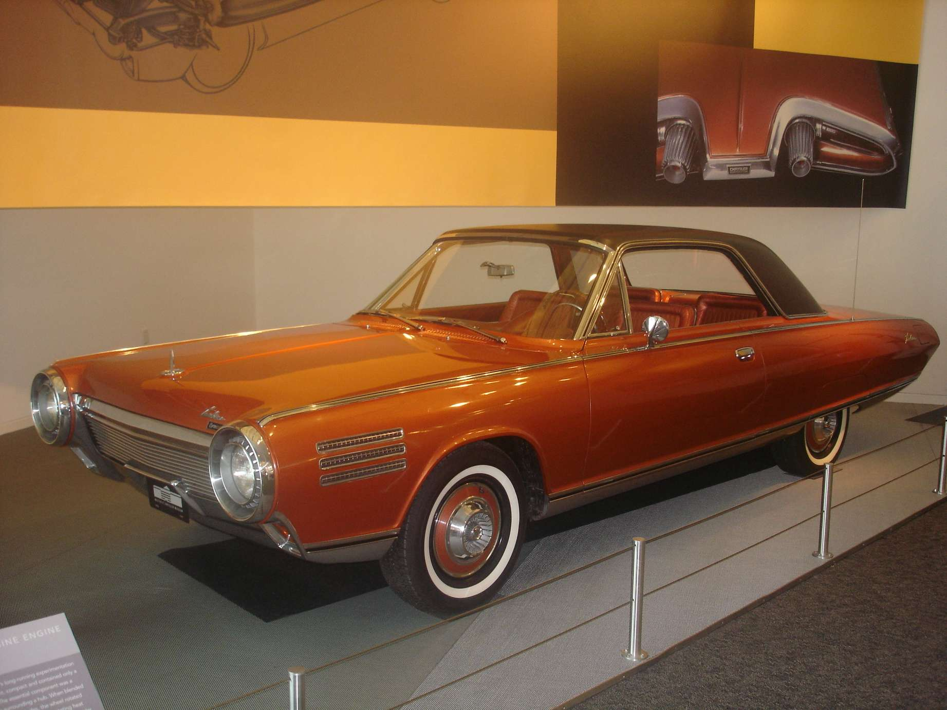 Chrysler Turbine #9550470