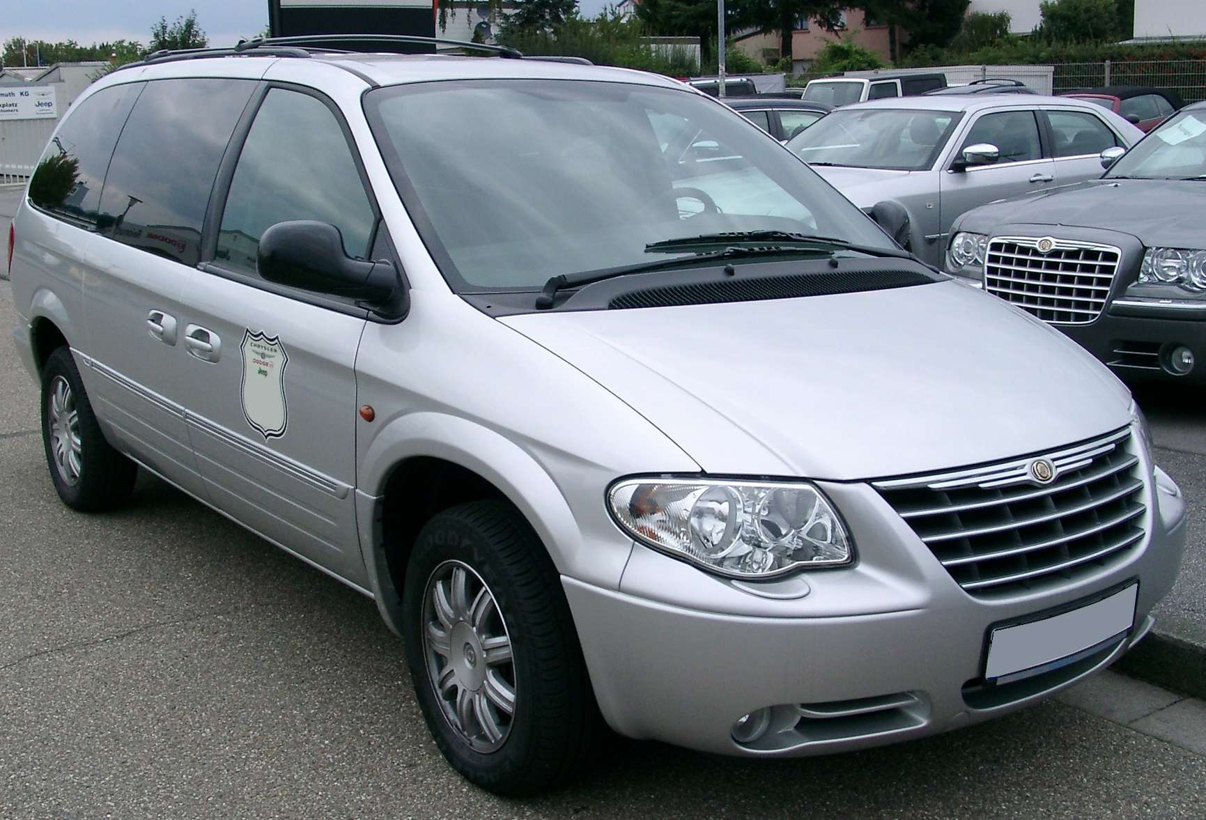 Chrysler Grand Voyager #8731005