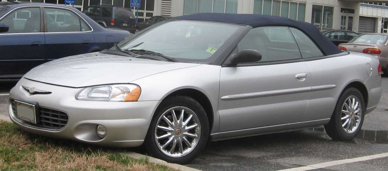 Chrysler Sebring Convertible #8926187