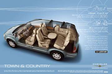 Chrysler Town  Country #9620143