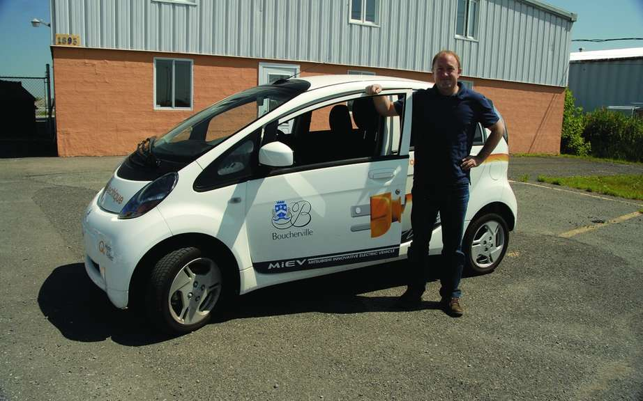 Hydro-Quebec delivers ten cars i-MiEV has Boucherville businesses picture #2