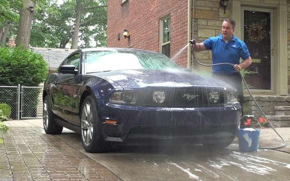 Ford makes washing your car both easy and fun