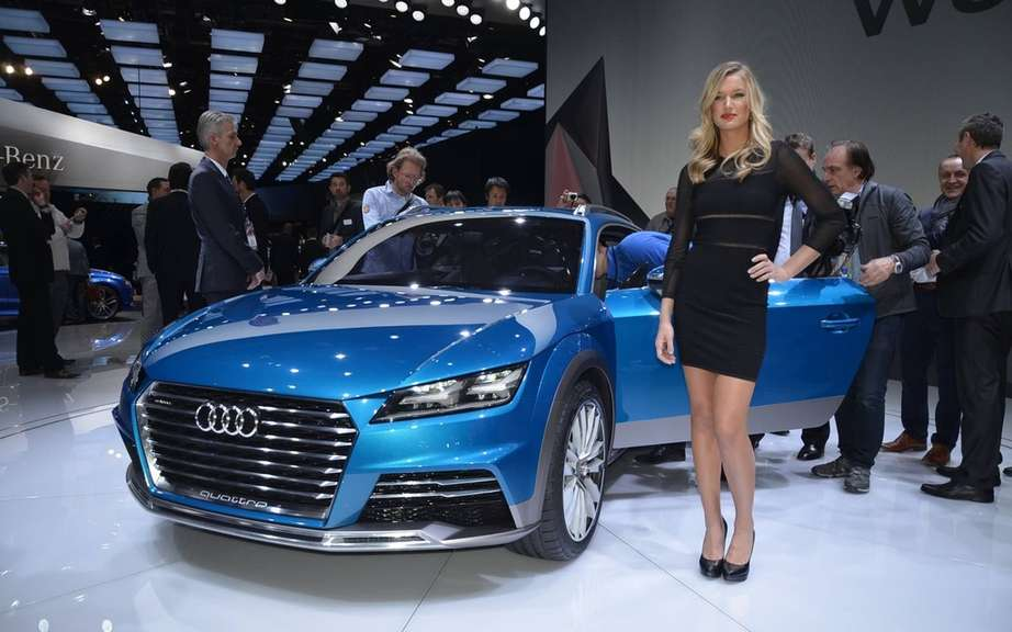 Audi TT Allroad in preparation?