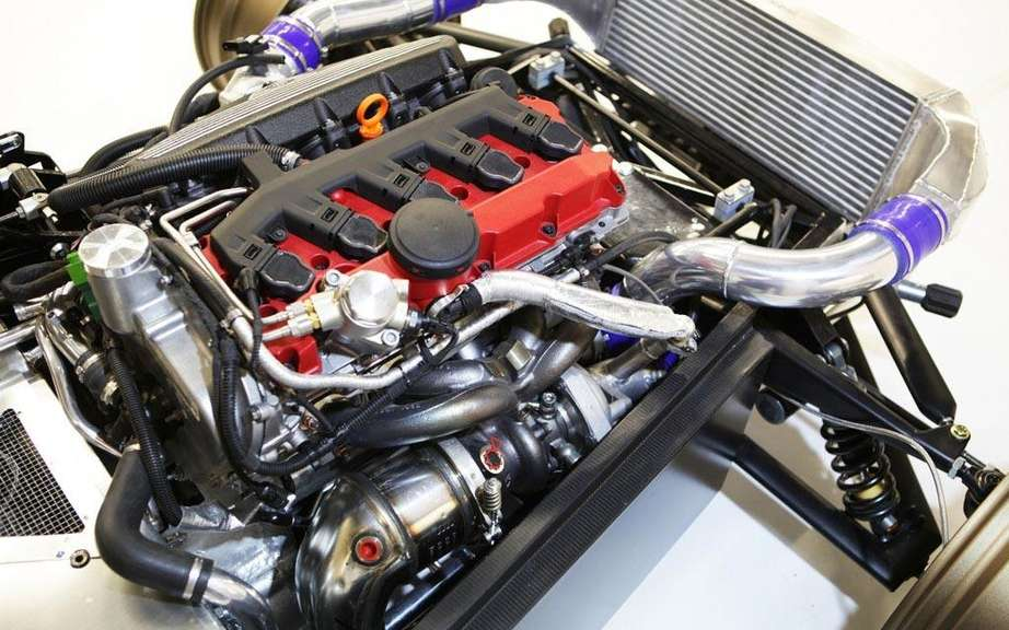 Donkervoort D8 GTO: The engine of the TT RS picture #4