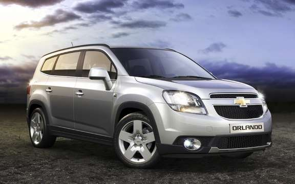 Chevrolet Orlando 2012: A whole new way of doing picture #1